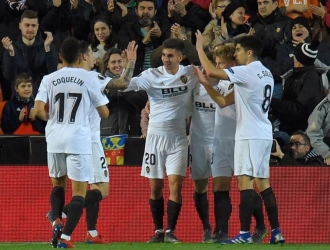 Gameiro le dio el gol de la victorial al Valencia | Foto: Referencial