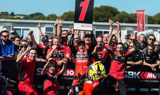 El español ganó la segunda carrera del Superbike / Foto: Cortesía