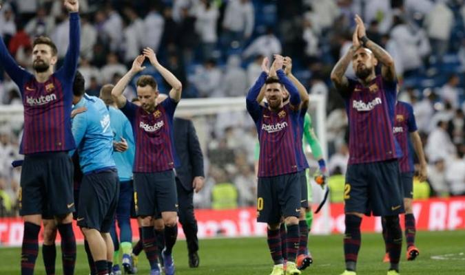El conjunto blaugrana venció a un equipo blanco que no fue nada efectivo/ Fotos AP