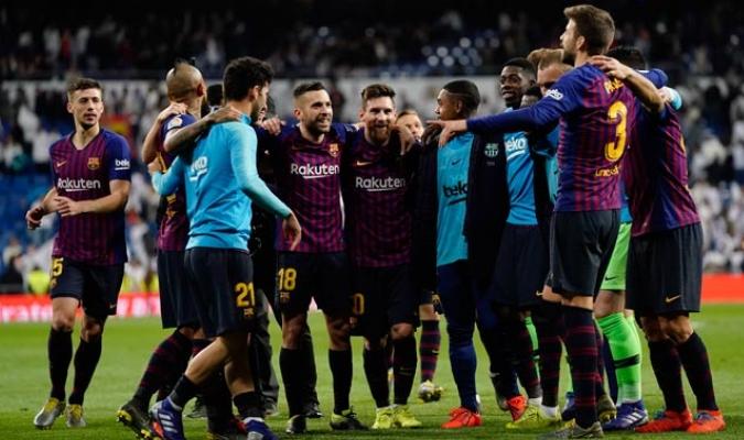 El conjunto blaugrana volvió a triunfar en el Clásico y alejó aún más al Madrid en la tabla/ Fotos AP