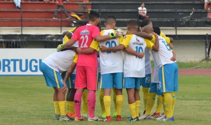 Los guayaneses cuadraron con los capitalinos para jugar el lunes | Foto: @LalaFutbolClub