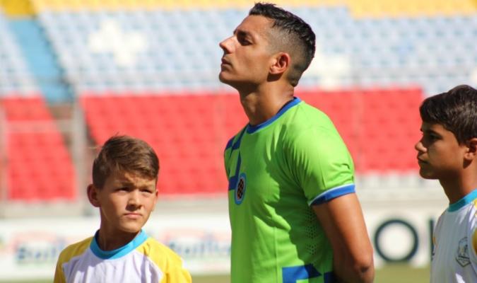 Blanco se pronunció por sus redes sociales con su postura de futbolista | Foto: @MinerosGuayana
