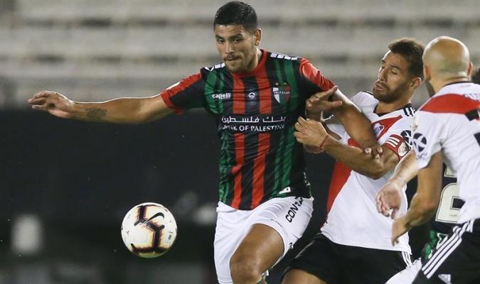 Del Pino Mago jugó todo el encuentro ante River | Foto: EFE