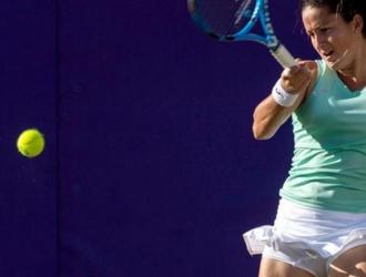 Lara no pudo evitar la derrota ante Monica en el Open de Miami Foto: Cortesía