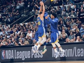 Curry anotó un dantesco triple sobre el final del 1C | Foto: Cortesía