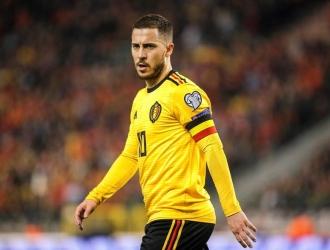 Hazard defendió a Courtois en forma de broma | Foto: EFE
