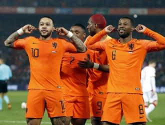 Depay comandó la goleada de Holanda sobre los Bielorusos | Foto: EFE