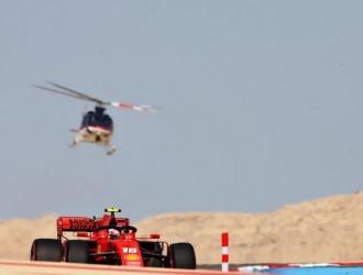 Leclerc manifestó su descontento al quedar tercero en el Gran Premio de Baréin // Foto: Cortesía