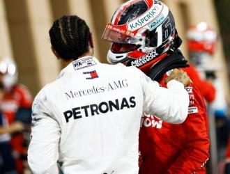 Hamilton consideró que la victoria la merecía Leclerc // Foto: Cortesía