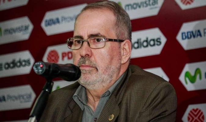 Laureano González se disculpó con Dudamel, Rincón y Rondón   Foto: Cortesía