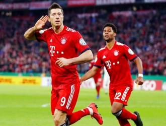 El Bayern logró concluir el partido frente al Heidenheim // Foto: AP