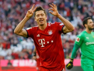 Lewandowski marcó en el duelo    Foto: Cortesía