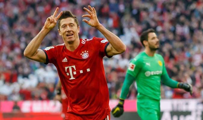 Lewandowski marcó en el duelo || Foto: Cortesía