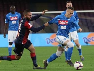 Napoli le dejó la mesa servida a la Juve | Foto: EFE