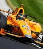 El español ya maneja el McLaren    Foto: Cortesía