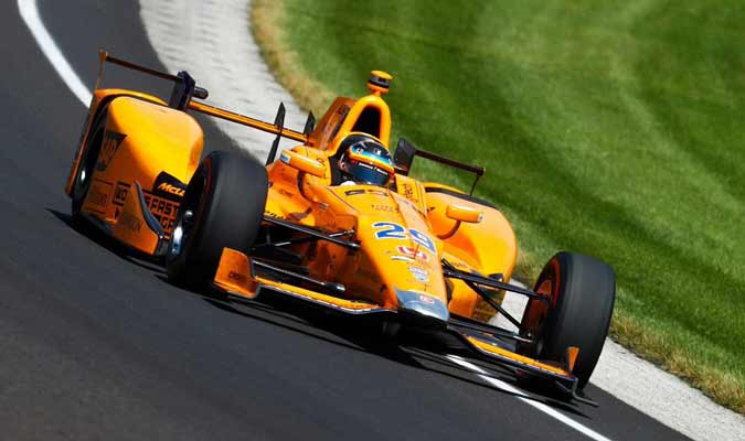 El español ya maneja el McLaren || Foto: Cortesía