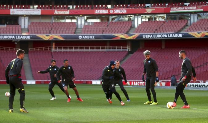 Arsenal recibe al Napoli en Londrés / Foto: Cortesía