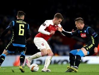 Arsenal logró dominar al Nápoles // Foto: Cortesía