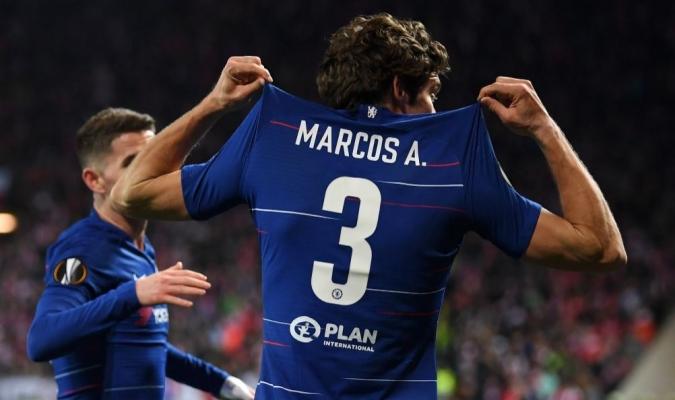 El Chelsea consiguió la victoria ante el Slavia Praga // Foto: Cortesía