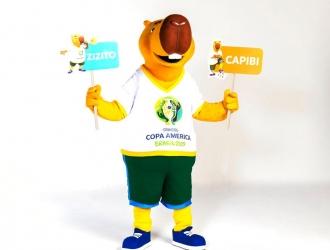 El nombre de la mascota rinde tributo al ex futbolista Zizinho // Foto: Cortesía