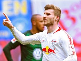 Werner fue uno de los goleadores/ Foto: AP