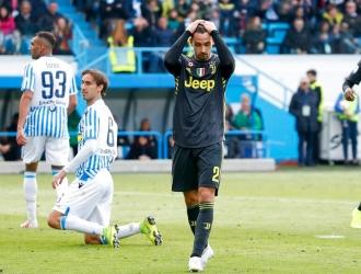 Spal logró contener a Juventus // Foto: AP