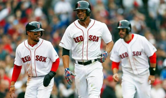 Boston logró blanquear a Baltimore // Foto: AP