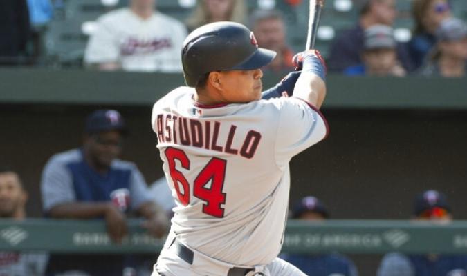 Astudillo y Nuñez dieron jonrón como Back To Back | Foto: AP