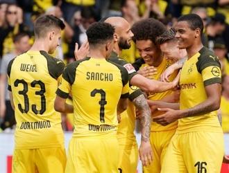 Dortmund se pone a uno del Bayern   Foto: EFE