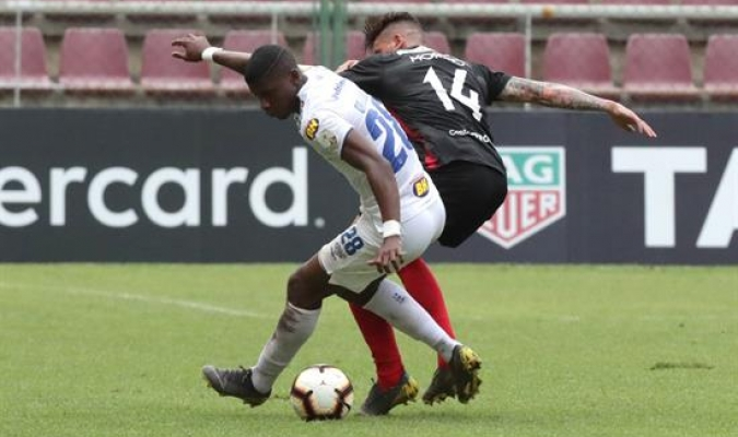 Los larenses no pudieron ante Cruzeiro | Foto: EFE