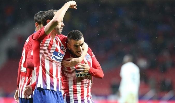 El Atlético consiguió dominar al Valencia en LaLiga