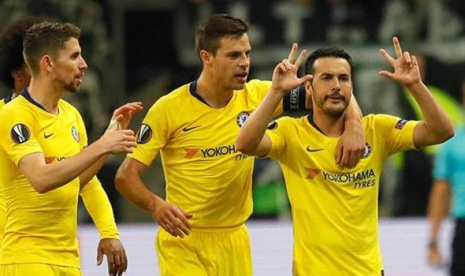 Pedro le regaló un empate al Chelsea en Alemania | Foto: EFE