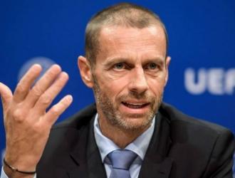 El mandatario de la UEFA aclaró que no se ha determinado nada con las competiciones europeas // Fot