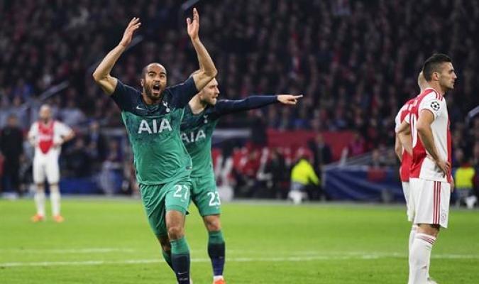 El brasileño marcó hat trick decisivo que le dio la remontada y el boleto a la final a Los Spurs |
