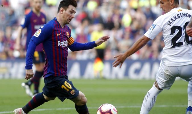 Leo anotó el segundo gol / Foto: AP