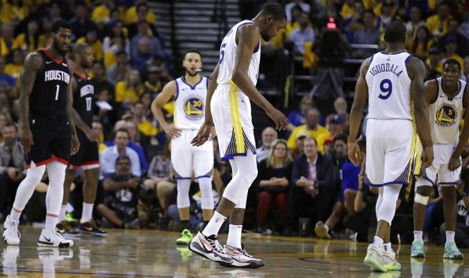 Durant se perdería los dos primeros duelos / Foto: AP