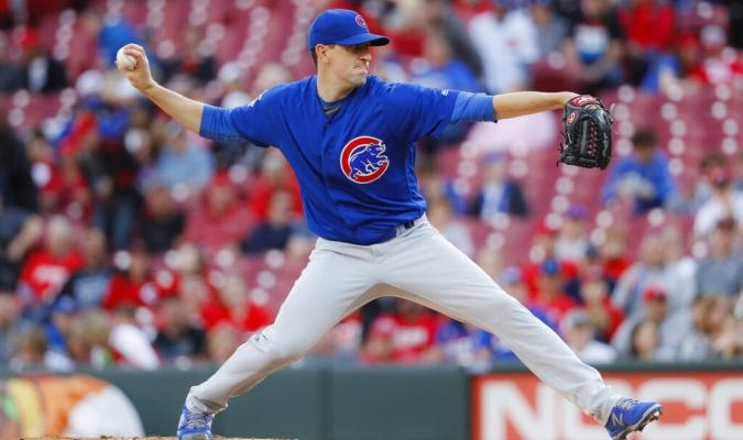 Hendricks comandó la victoria de Cubss | Foto: AP