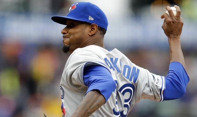 Jackson se fue sin decisión en su estreno con Azulejos | Foto: AP
