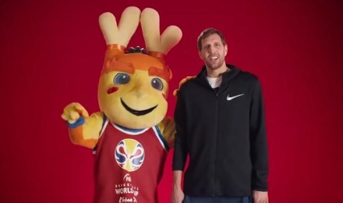 Nowitzki será el tercer icono deportivo en representar el Mundial // Foto: Cortesía