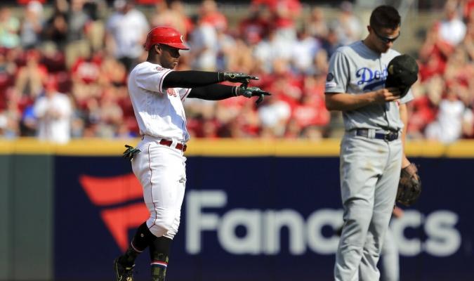 Rojos le propinaron nueve ceros a Dodgers   Foto: AP