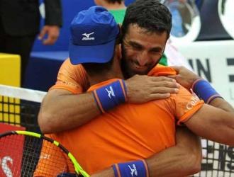 Los tenistas celebraron por todo lo alto / Foto: Cortesía