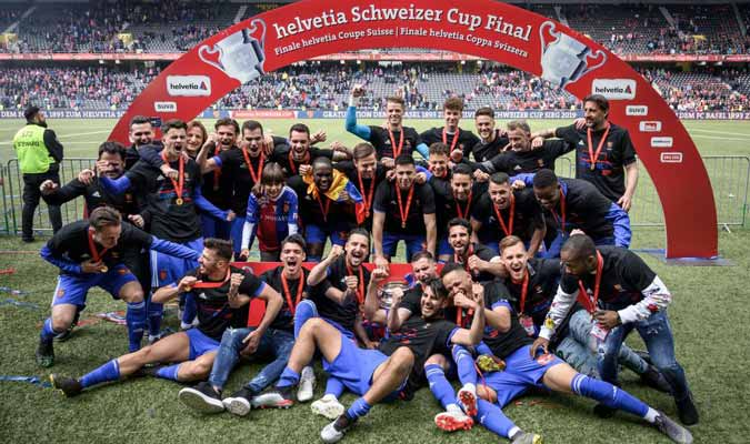 Los jugadores celebraron el campeonato / Foto: Cortesía