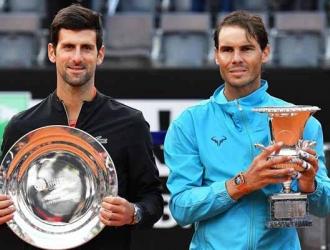 Djokovic enfrentó a Nadal en la final de Roma / Foto: EFE