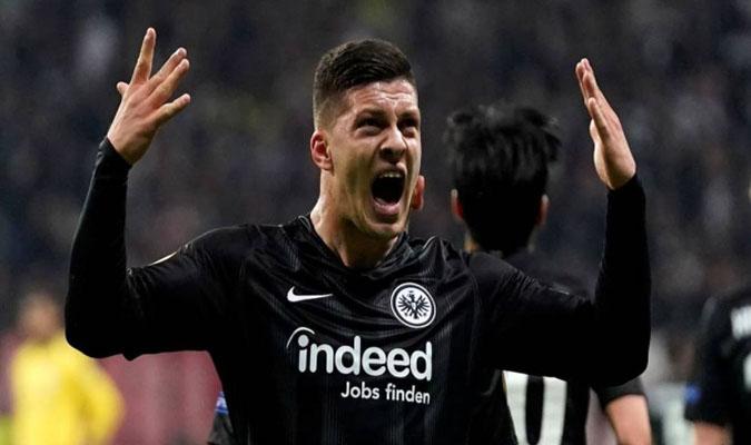 El Eintracht Frankfurt no se desprenderá tan fácil del serbio // Foto: Cortesía