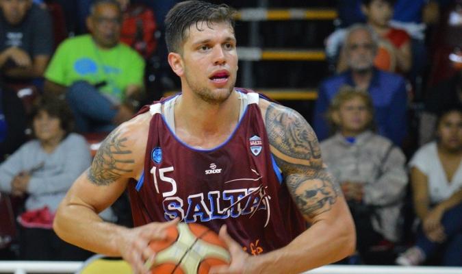 El jugador viene de jugar en el baloncesto argentino / Foto: Prensa Salta Basket