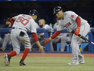 Devers ligó tres jonrones en tres días al hilo | Foto: AP