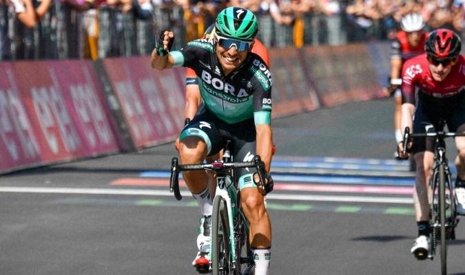 Benedeti dominó la etapa en su país // Foto: AP