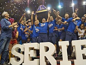 El conjunto de Berroterán se llevó el primer torneo / Foto: Cortesía
