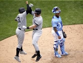 Voit comandó el triunfo de Yankees // Foto: AP