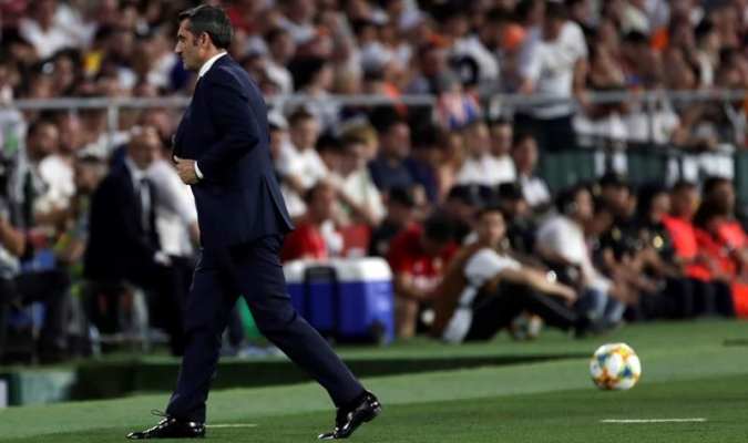 El técnico del Barcelona considera que puede seguir dirigiendo a su equipo // Foto: Cortesía